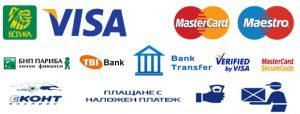 Методи на плащане в Онлайн Магазин за мебели Текрида Пловдив