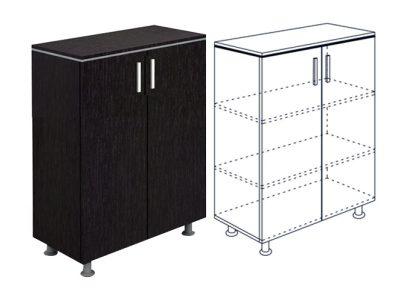 шкаф офисен с две врати
