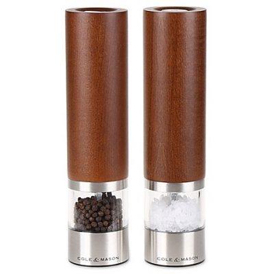 """COLE & MASON Комплект електрически мелнички за сол и пипер """"CHELTENHAM"""""""