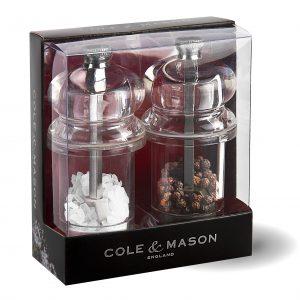 """COLE & MASON Комплект мелнички за сол и пипер """"575"""" - 10"""