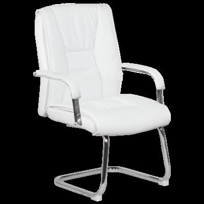 Посетителски стол Carmen 6540 - бял