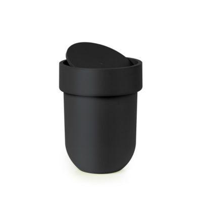 """UMBRA Кош за баня """"TOUCH"""" - 6л - цвят черен"""