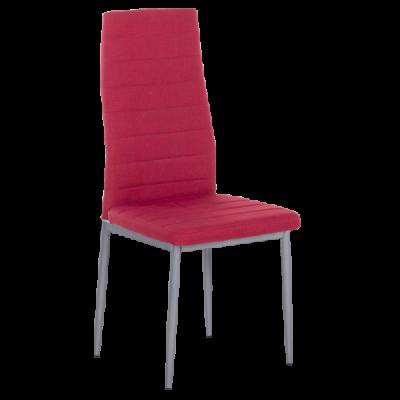 Трапезен стол Carmen 515 - ярко червен