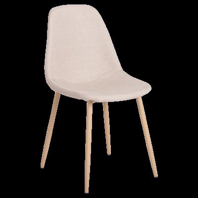 Трапезен стол Carmen 511 S - телесен