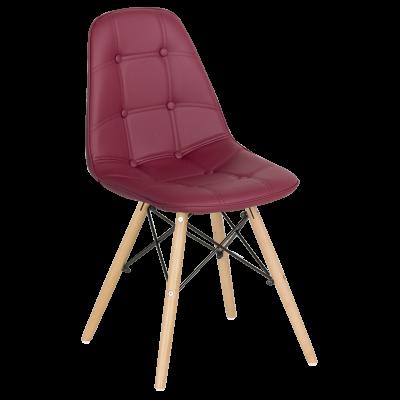 Трапезен стол Carmen 9962 - бордо
