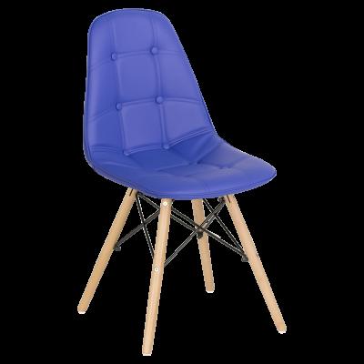 Трапезен стол Carmen 9962 - син