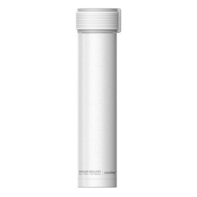 """ASOBU  Двустенна термо бутилка с вакуумна изолация """"SKINNY MINI"""" - 230 мл - цвят бял"""