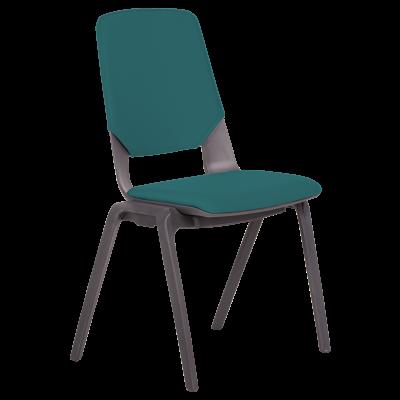 Посетителски стол LIMBER - морско син