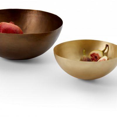 PHILIPPI Месингова купа / фруктиера BRASS - Ø 20 см - цвят злато
