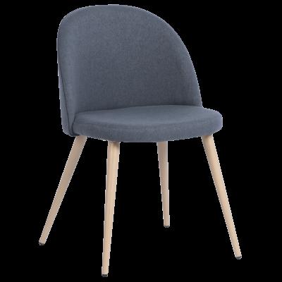 Трапезен стол Carmen 514 - тъмно сив MB