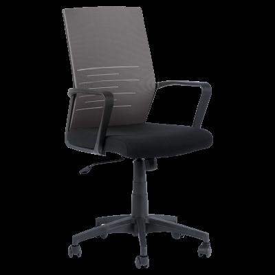 Работен офис стол Carmen 7041 - черен - сив