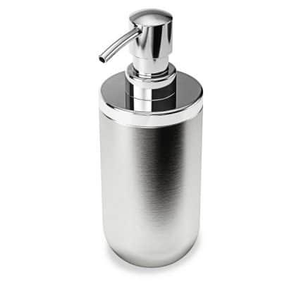 """UMBRA Диспенсър за течен сапун """"JUNIP"""" от неръждаема стомана"""