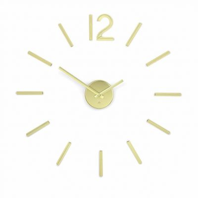 "UMBRA Стенен часовник ""BLINK"" - цвят месинг"