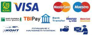 Методи на плащане в Магазин за мебели Текрида Пловдив