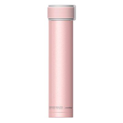 """ASOBU  Двустенна термо бутилка """"SKINNY MINI"""" - 230 мл - цвят розов"""