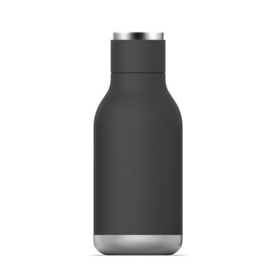 "ASOBU Двустенна термо бутилка ""URBAN"" - 460 мл - цвят черен"
