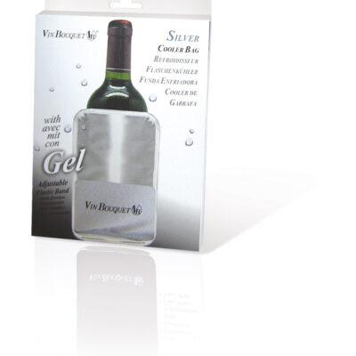 Vin Bouquet Охладител за бутилки - SILVER ELASTIC