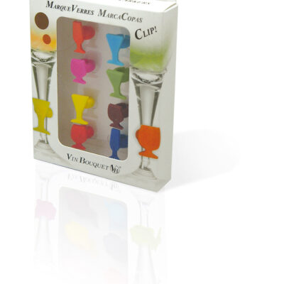 Vin Bouquet Сет силиконови украси за чаши - 8 бр.