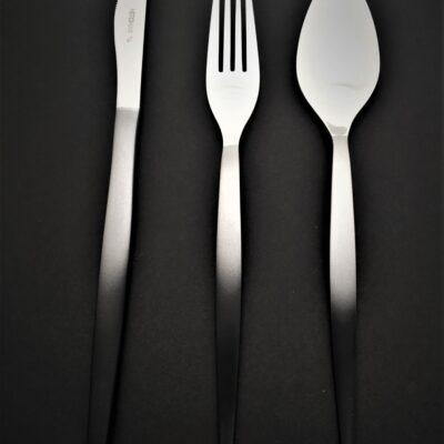 """HERDMAR Комплект прибори за хранене """"TIFFANY""""- 36 части - с опушен ефект"""