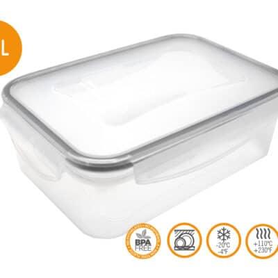 Nerthus Херметическа кутия за храна - 0