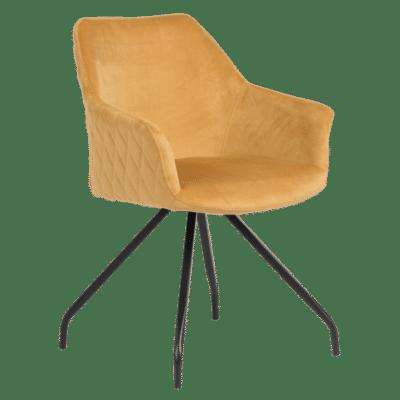 Трапезен стол KENDAL - злато BF 2