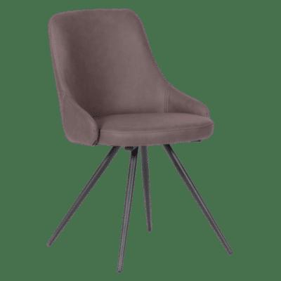 Трапезен стол NEWPORT - червено - кафяв SF 2