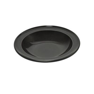 """EMILE HENRY Керамична дълбока чиния """"SOUP BOWL""""- цвят черен"""