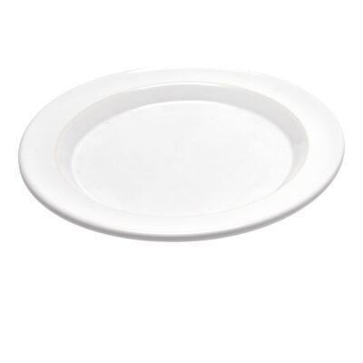 """EMILE HENRY Керамична основна чиния """"DINNER PLATE"""" - цвят бял"""