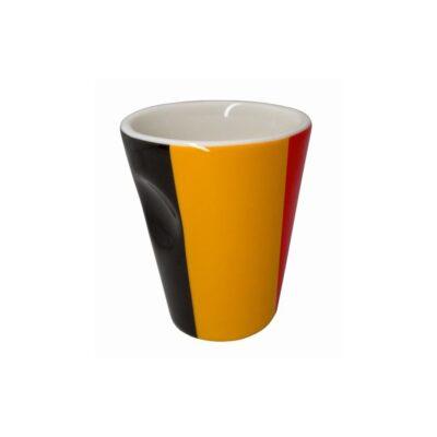 "Nerthus Порцеланова чаша за еспресо ""BELGIUM"" - 100 мл."