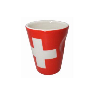 "Nerthus Порцеланова чаша за еспресо ""SWITZERLAND"" - 100 мл."
