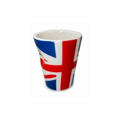 """Nerthus Порцеланова чаша за еспресо """"UNITED KINGDOM"""" - 100 мл."""
