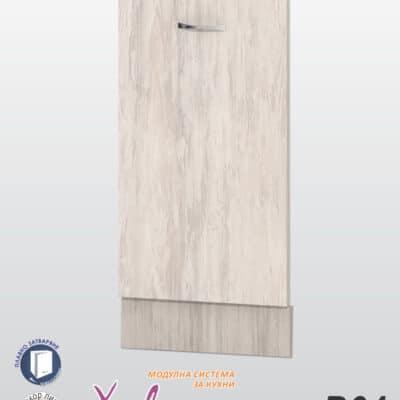 Врата за съдомиялна с цокъл Хавана B64
