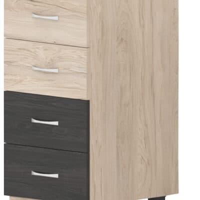 Шкаф с четири чекмеджета Дорина B1
