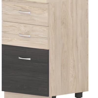 Шкаф с две чекмеджета и врата Дорина B77