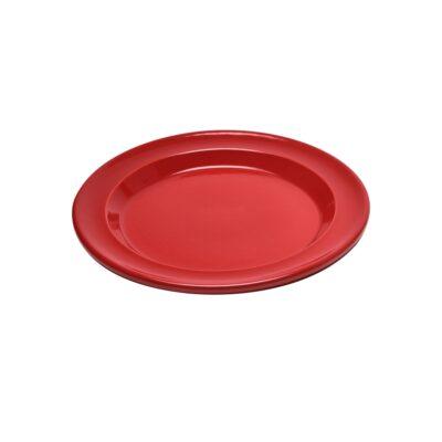 """EMILE HENRY Керамична десертна чиния """"SALAD/DESSERT PLATE""""- цвят червен"""