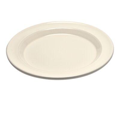 """EMILE HENRY Керамична основна чиния """"DINNER PLATE"""" - цвят екрю"""