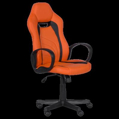 Геймърски стол Carmen 7525 R - оранжево - черен