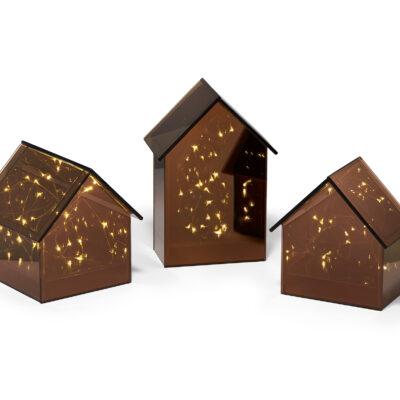 PHILIPPI  Декоративна светеща къща LIGHT HOUSE  - размер L